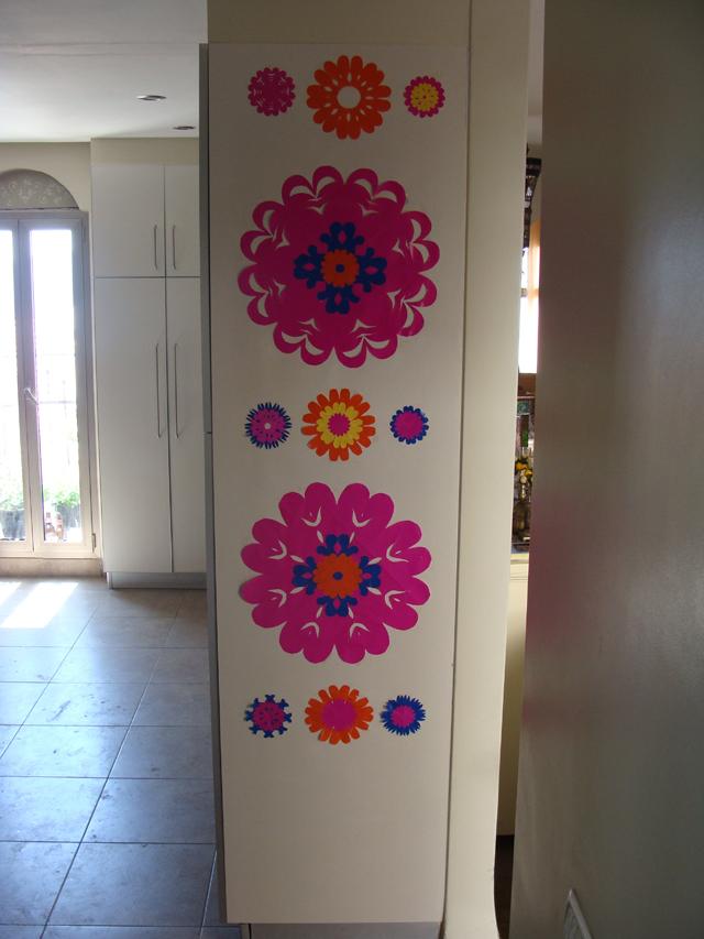 Paper Flowers Kitchen-Blog