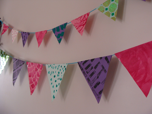 Paper Bunting Flags