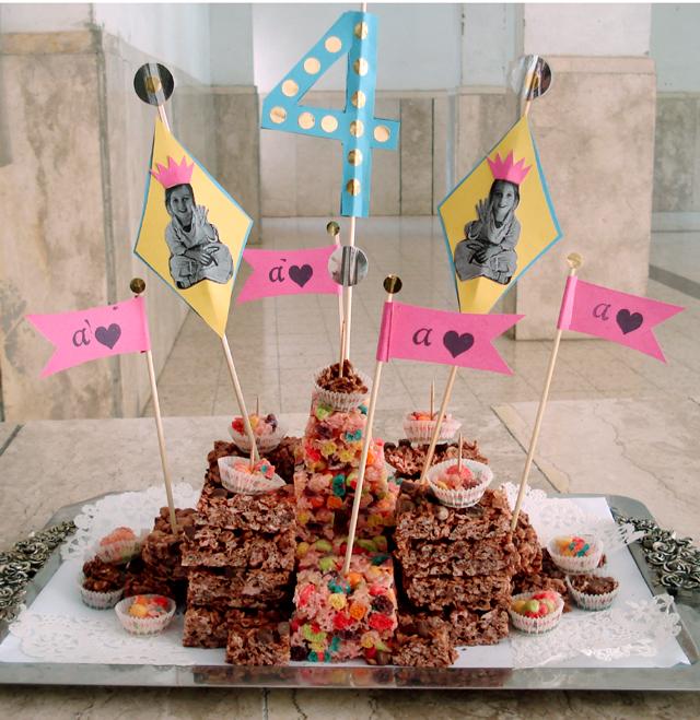 Birthday Cake 4th Birthday