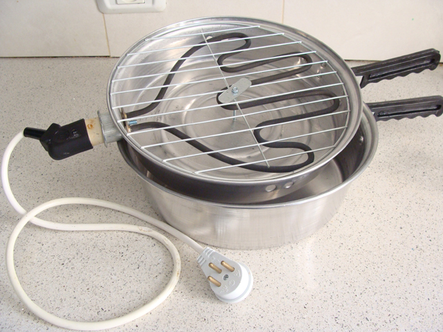 Pita Pan With Electric Coil Lid