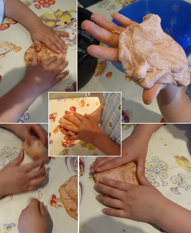 Baker's Clay Collage
