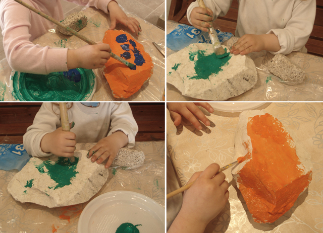 Kids Crafts Rock Painting
