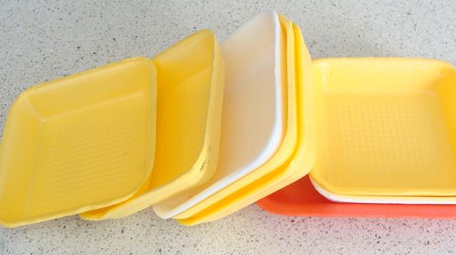 Styrofoam Printing Trays