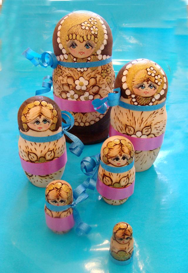 Russian Nesting Doll Decorations-6