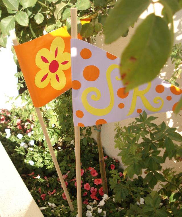 Garden Party Flags