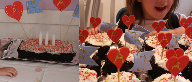 Birthday Cake 3 years old