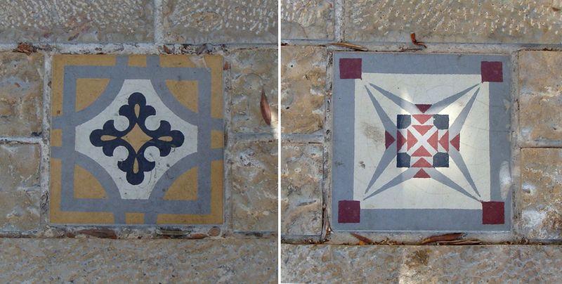 Haifa German Colony Tiles