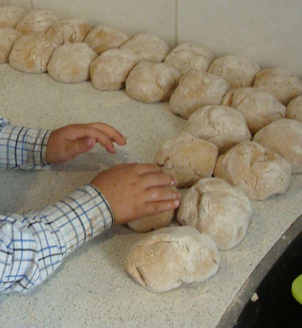 Delicious Home Baked Pita Bread Whole Wheat Creative