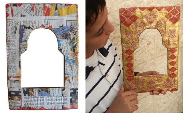 Make A Unique Paper Mache Frame! (For your Succah?) - creative ...