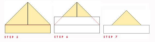Paper Boat Steps 5,6,7