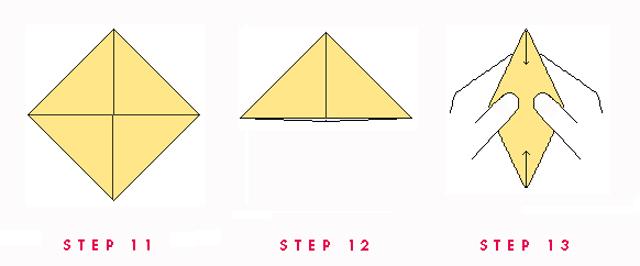 Paper Boat Steps 11.12.13