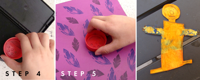 Stamping how to 4,5,6