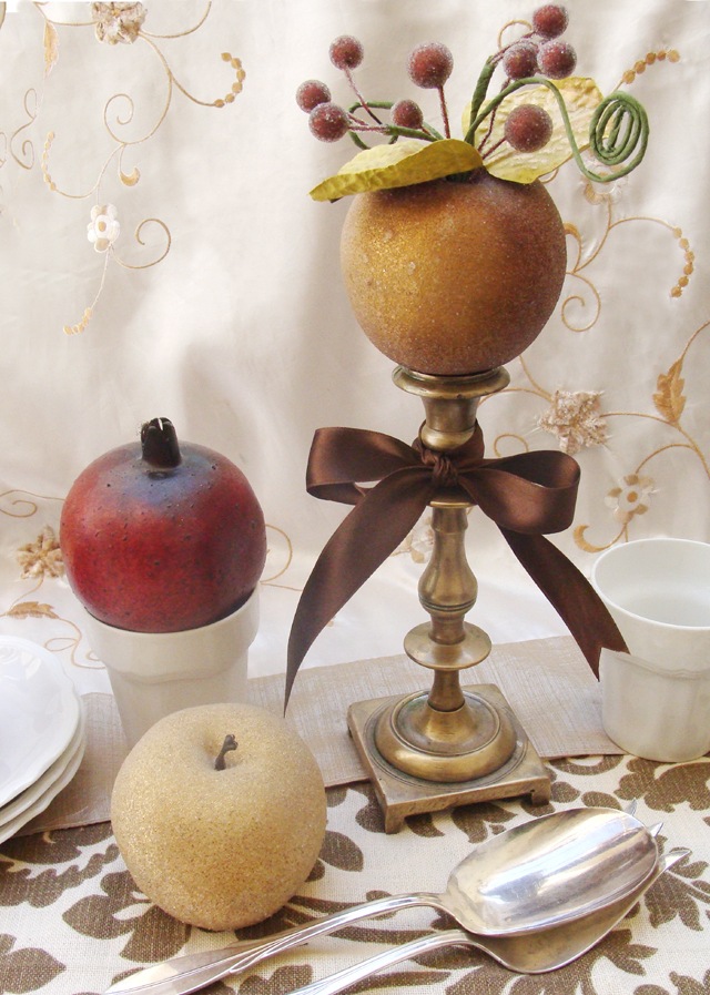 Elegant and Creative Rosh HaShana Table
