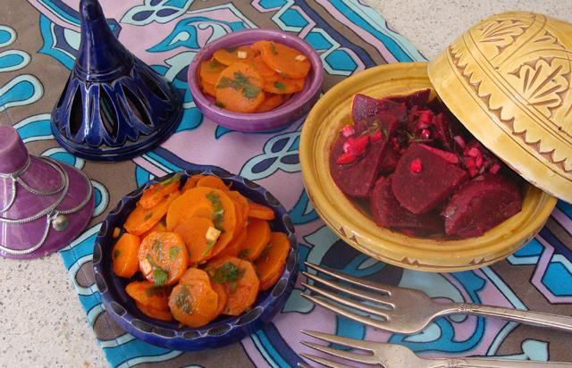 Moroccan Carrot Salad, Moroccan Beet Salad