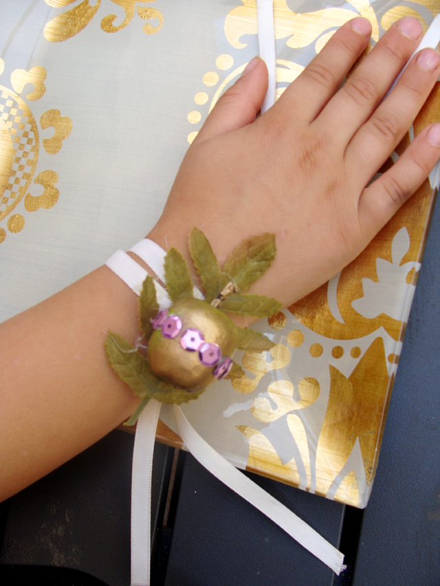 Apple Napkin Ring or Bracelet