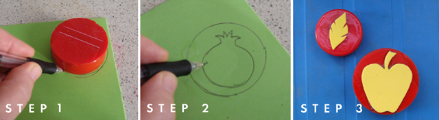 Stamping; Making Stamps 1,2,3