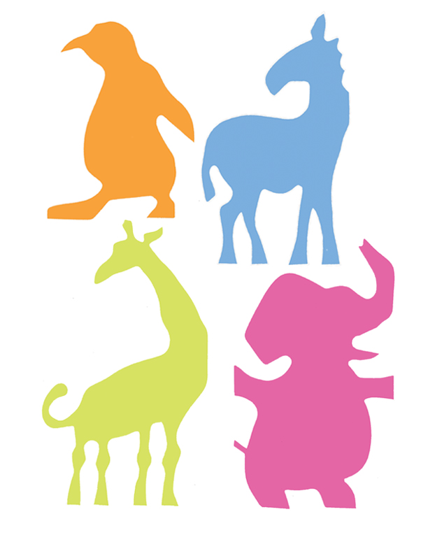 Noah's Ark Animal Silhouettes
