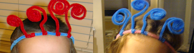 Pipe Cleaner Party Headband