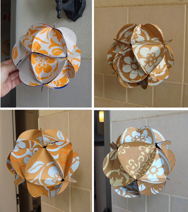 Succah Polyhexidrons Stencilled