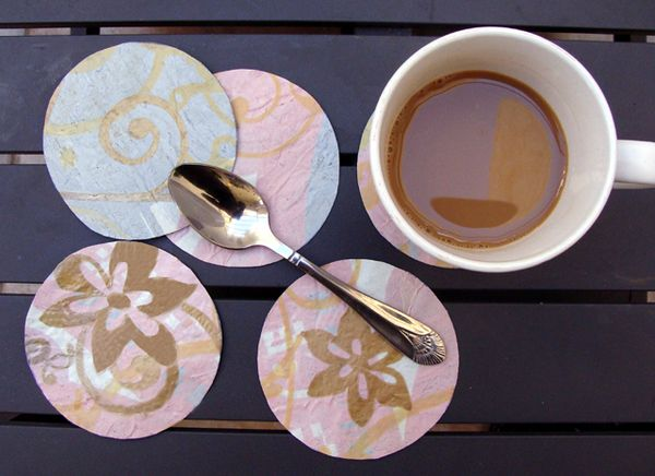 Fuse Plastic Bags and Make Some Fabulous Coasters ...
