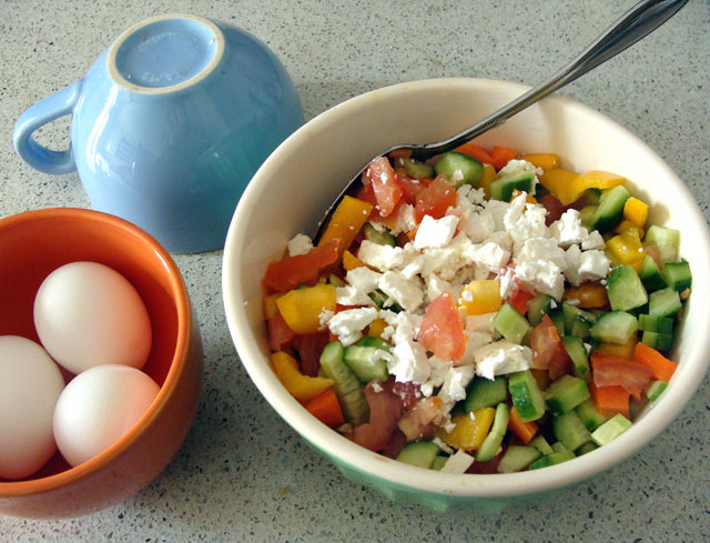 Israeli-Breakfast-Salad