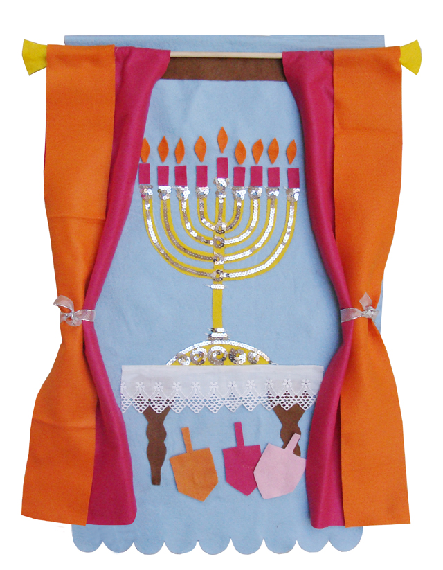 Chanukah Felt Wall Hanging