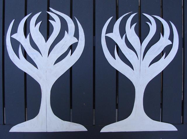 Tu B'Shevat Tree Cardboard