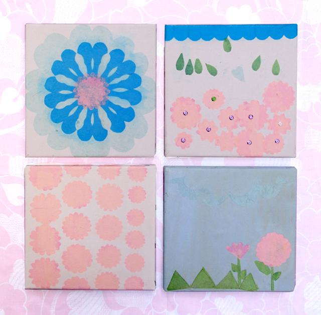 Tu B'Shevat Tissue Paper Collage