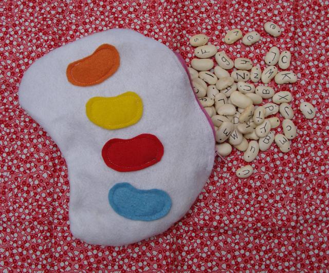 AlphabeansFelt bean Bag