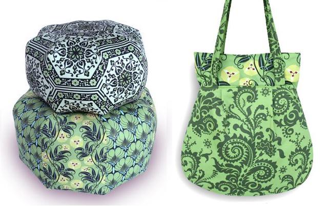 Amy Butler Pillows+purse