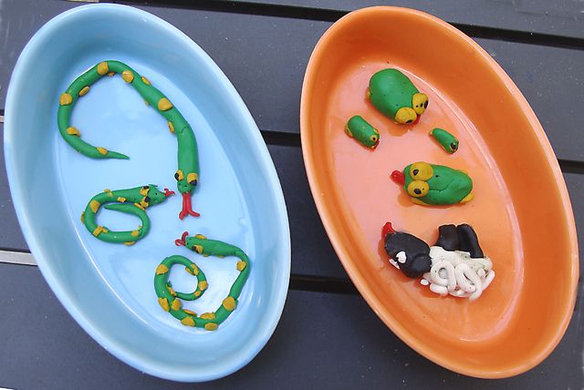Pesach Fimo Crafts For the Ten Plagues
