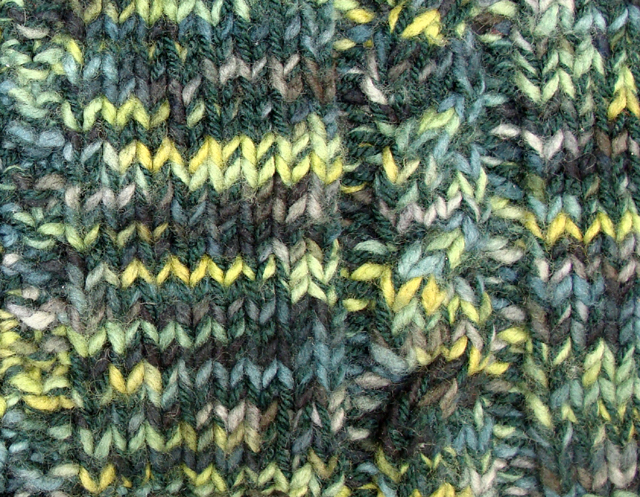 Knitted Throw Variegated