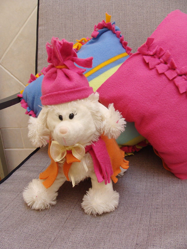 1c8995c118 No-Sew Fleece  Make Adorable Outfits For Stuffed Animals! - creative ...