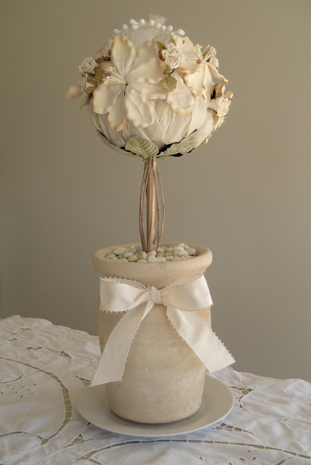 Tu B'Shevat Wedding Flower Topiary