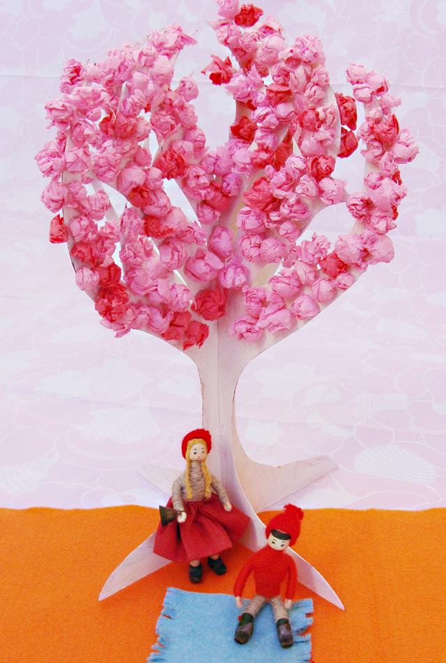 Tu B'Shevat Tree In Bloom1
