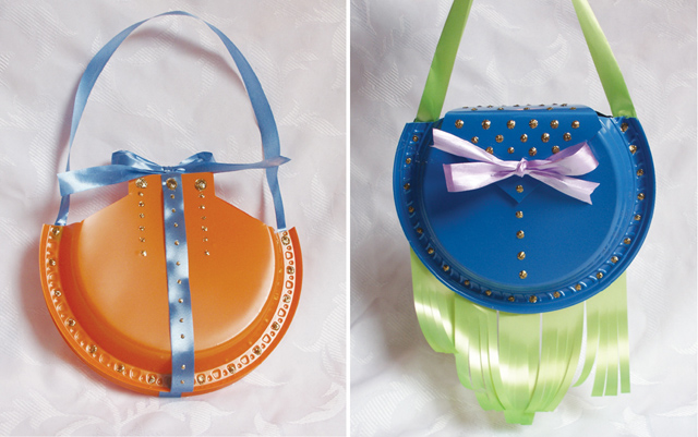 Purim purses orange