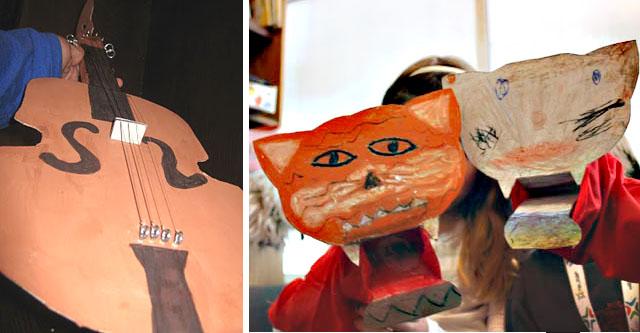CSS Feb11 violin+tiger puppets