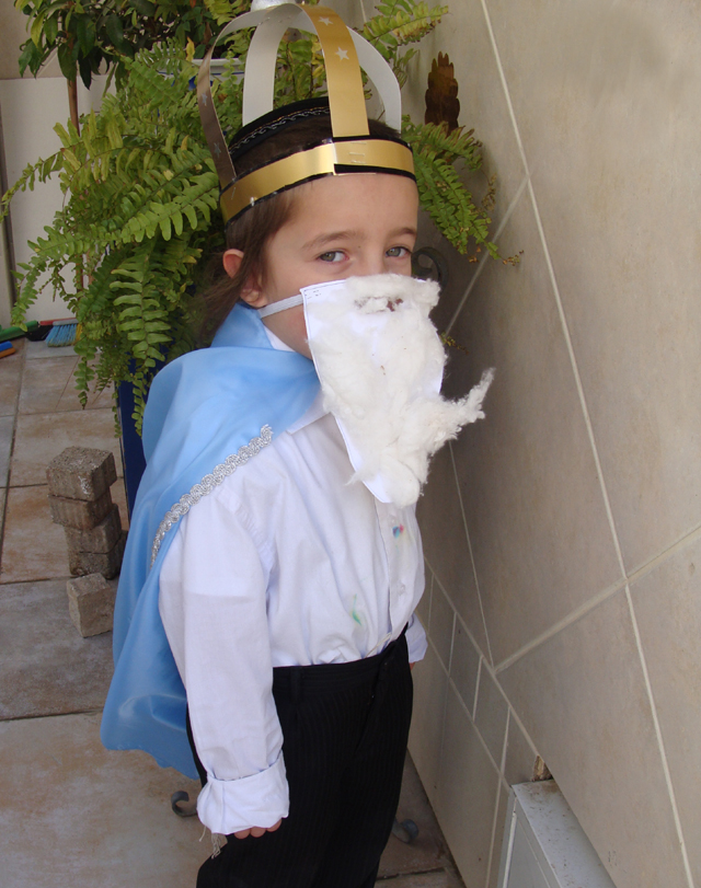 Purim YN Mordechai School Costume