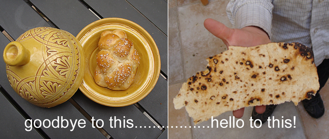 Pesach goodbye to bread