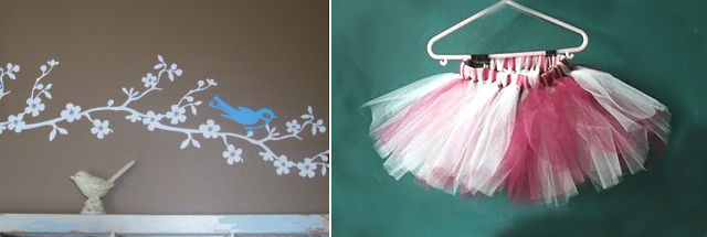 Wall Decal + Tutu