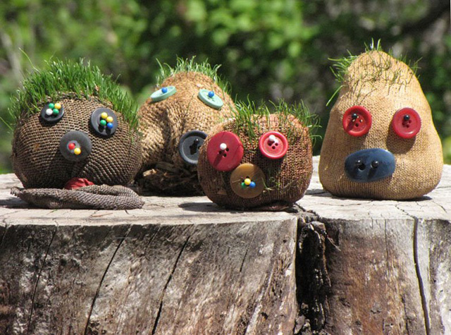 Grass Heads Homemade