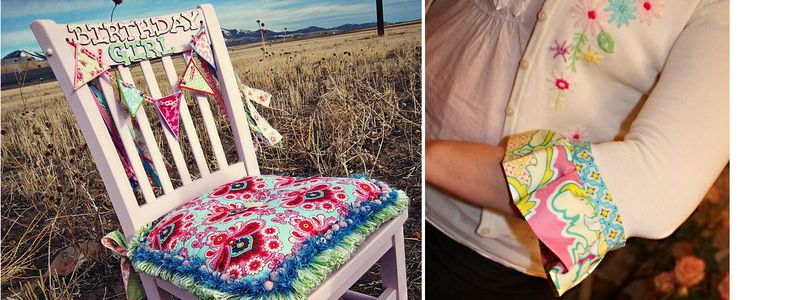 Birthday Chair+Sweater Update