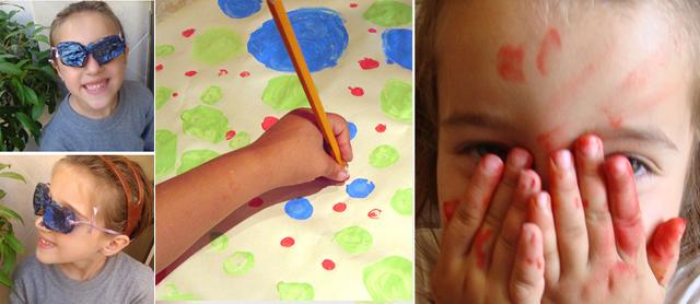 Designing Mom kids art