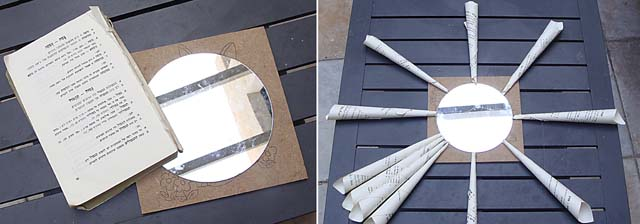 Book Page Mirror How To 1