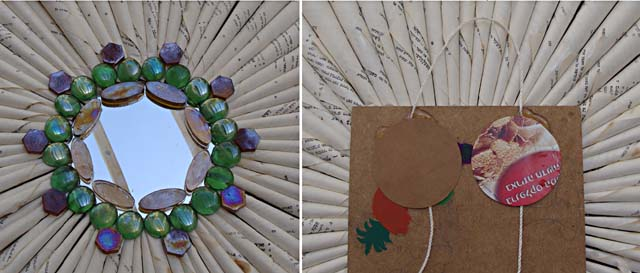 Book Wreath Mirror How To 3