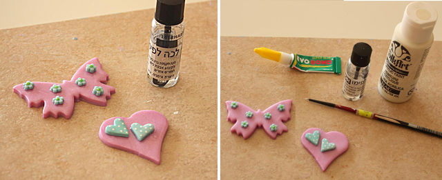 Fimo Nursery Decor Tutorial Step 3