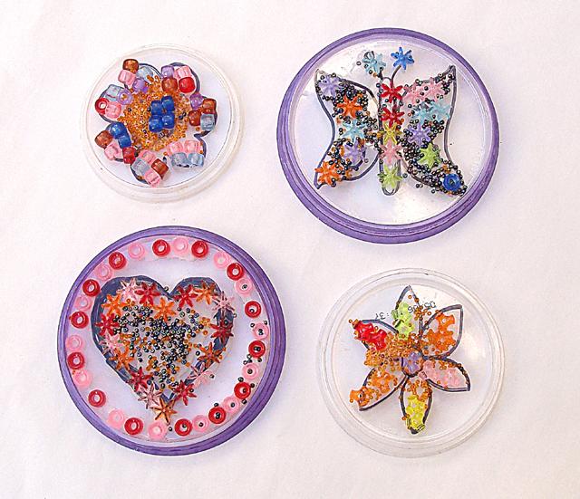 Bead Mosaic For Kids