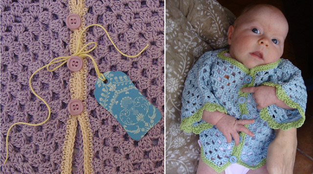 Crochet Baby Hex Tag and Model