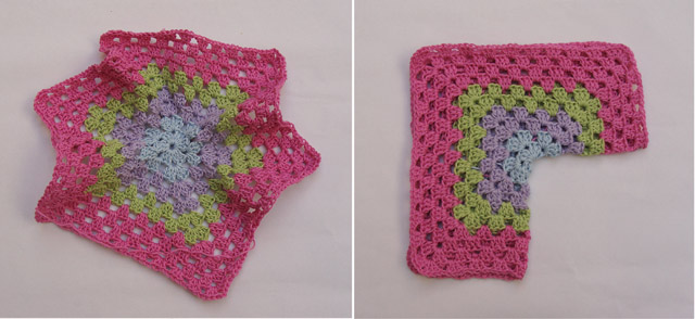 Crocheted Baby Surprise Hex Example