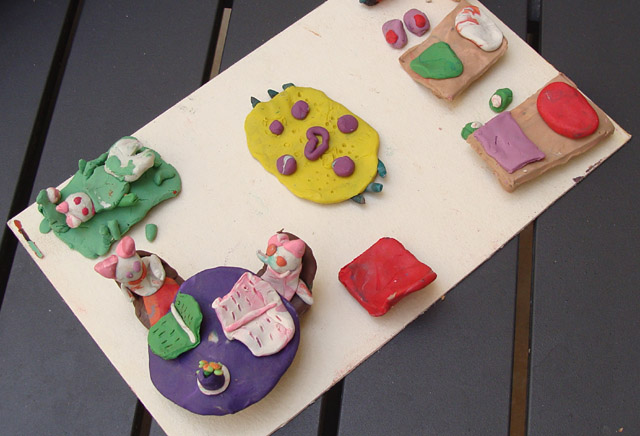 Modeling clay at home